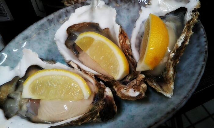 中央区 牡蠣