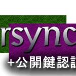 rsync サーバー バックアップ