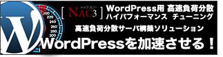 WordPress アダルト 高速化 大量アクセス キャッシュ 負荷分散 万PV