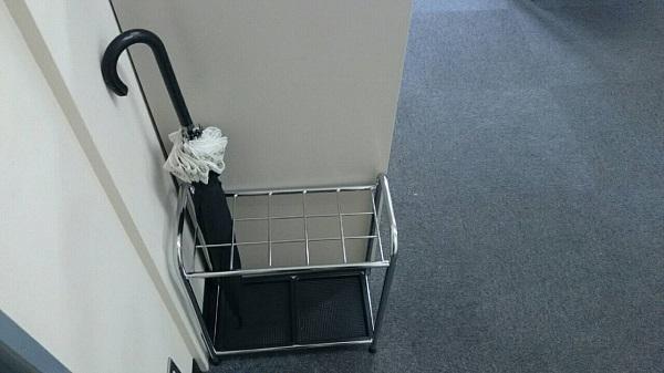 ITシステム会社 オフィスインフラ 傘たて