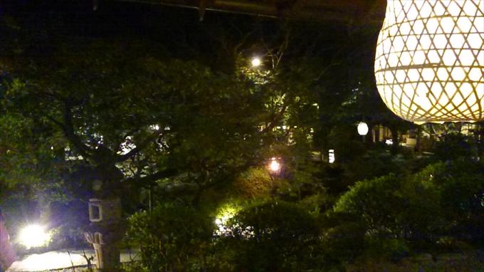 うかい烏山 日本庭園