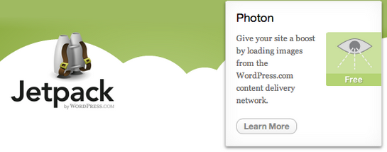 Wordpress photon 無効化