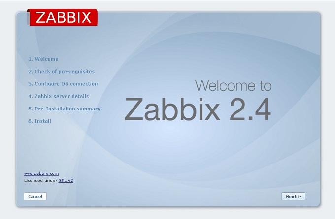 zabbix 監視