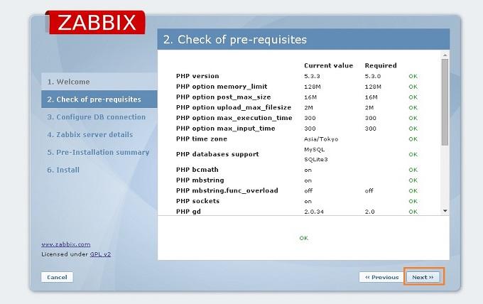 zabbix サーバ監視 統合監視環境 監視サービス