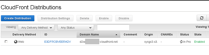 AWS CloudFront S3 CDN 静的ウェブサイト キャンペーンサイト