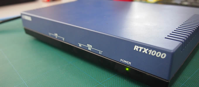 RTX1000 1100 設定