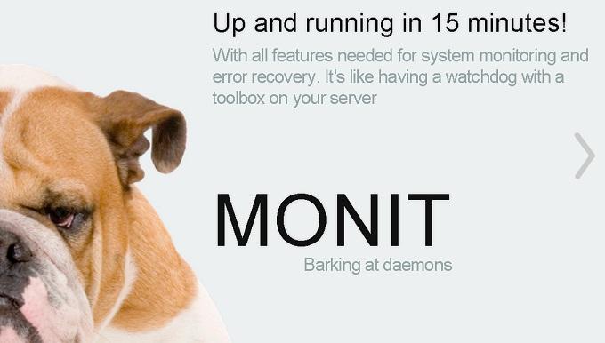 monit Not monitored monitをさぼらせないようにする。