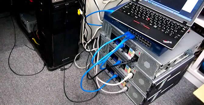 ハッキングサーバー