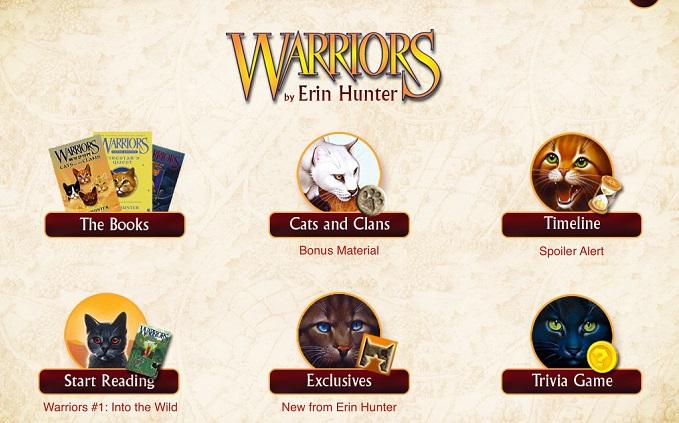 warriors 猫 アプリ