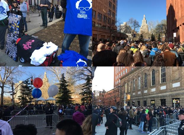 NY 選挙集会