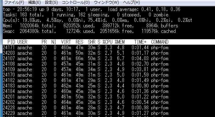 Apache環境でPHP-FPM+FastCGIを動かす設定