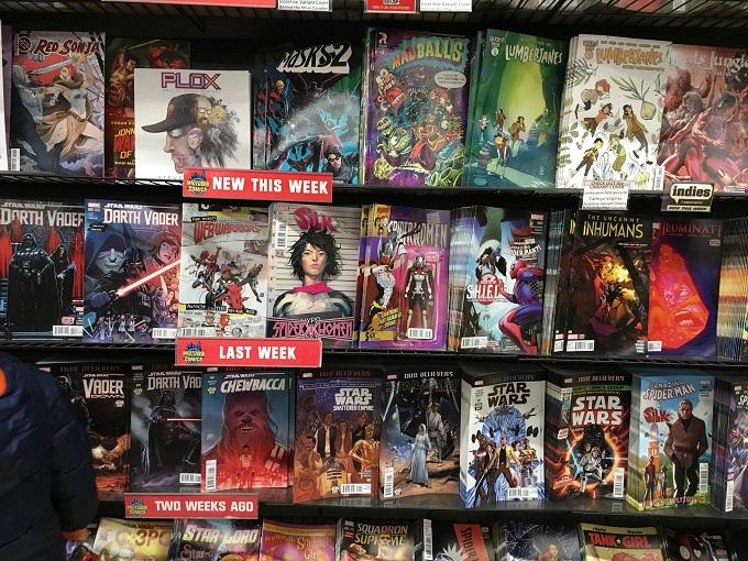 アメコミ 聖地 midtown comics