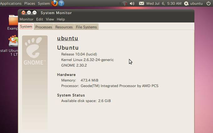 結局、ubuntu10.04