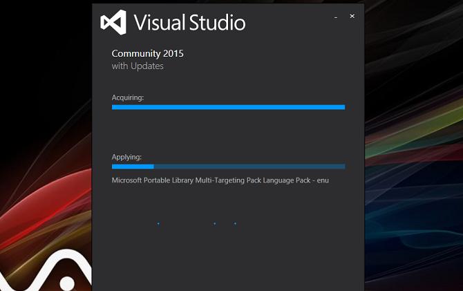visual studio 2015 インストール