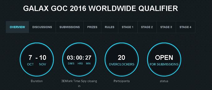 GALAX GOC 2016 Worldwide Qualifierより