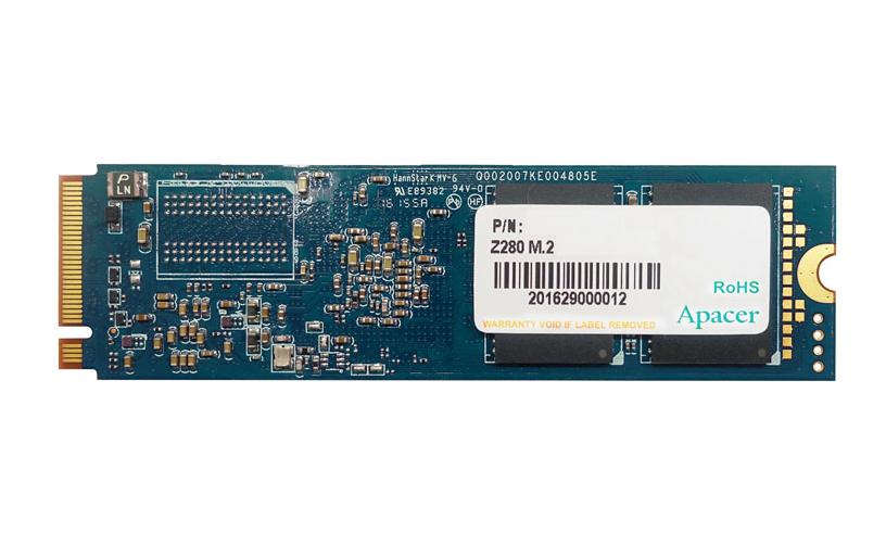 ApacerのNVMe SSD240GB