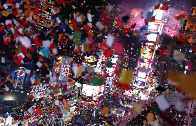 ニューヨーク 日本 お正月