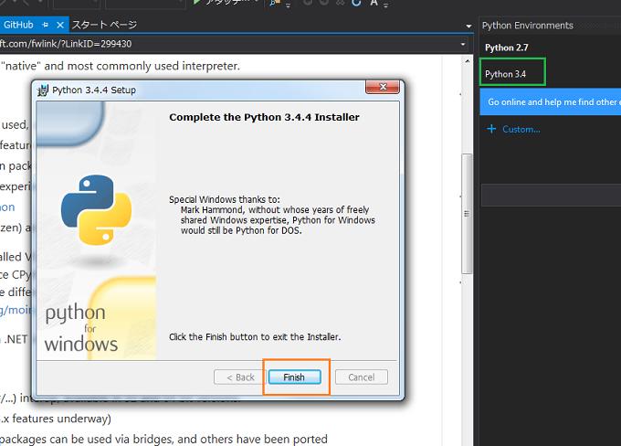 Visual Studio Python3