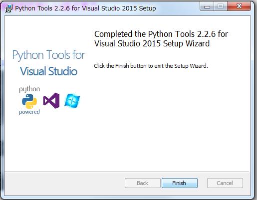 Visual Studio Python Setting Install