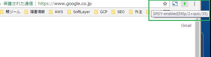 HTTP/2 quic プロトコル