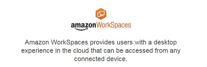 Amazon WorkSpaces 仮想デスクトップ