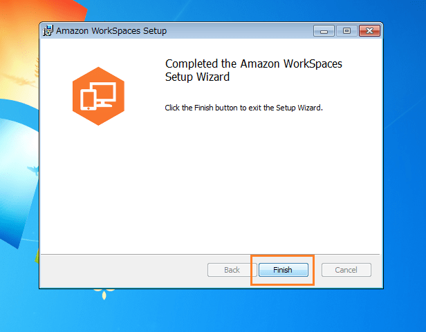 Amazon WorkSpaces インストール