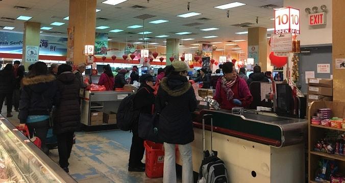 中国系スーパーマーケット ニューヨーク