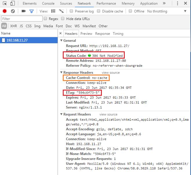 Nginx キャッシュさせない disable cache 無効化 | システムガーディアン