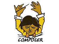 Composerインストール PHPのライブラリ管理