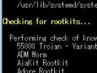 rkhunterのインストール Rootkitを検知