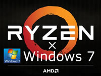 RyzenにWindows7をインストールする方法