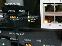 SWX2300 L2スイッチの初期設定をしてみよ~!