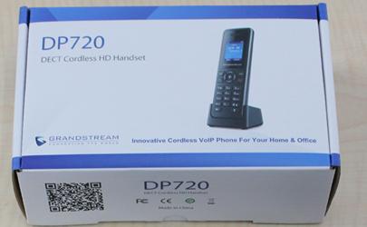 ワイヤレスのSIP電話機 DP750+DP720を試してみる。