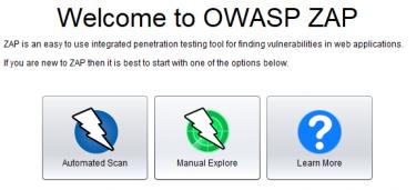 OWASP ZAP で脆弱性診断