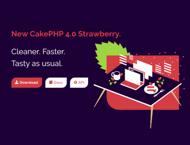 New CakePHP 4.0 Strawberry.